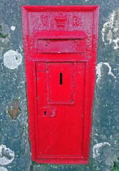 Photo of The old post box
