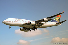 Photo of South African 744 zs-saz