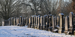 Photo of 25th January 2021.  Stretford Cemetery, Manchester.