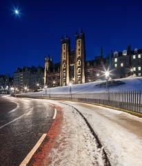 Photo of Edinburgh - Snowy New College