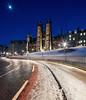 Edinburgh - Snowy New College