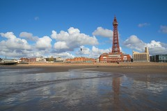 Photo of Tower reflections at Blackpool