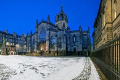 Photo of Edinburgh - Snowy St Giles