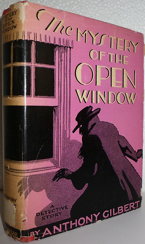 Anthony Gilbert - The Mystery of the Open Window (1930, 1st Edition, Dodd, Mead & Company, New York)