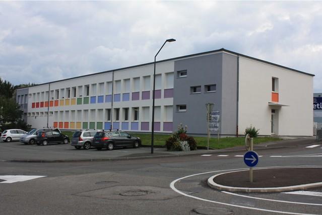 Rénovation thermique extérieure école du Centre