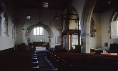 Photo of nyks - inside all saints church ryther 21-3-1994 JL