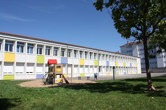 Rénovation thermique extérieure école Pergaud