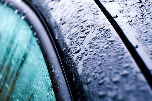protected moist bubble abstract liquid clean wax polish clear paint blue drops shiny wet automotive metallic car color droplet vivid raindrops automobile coat metal lowersaxony germany