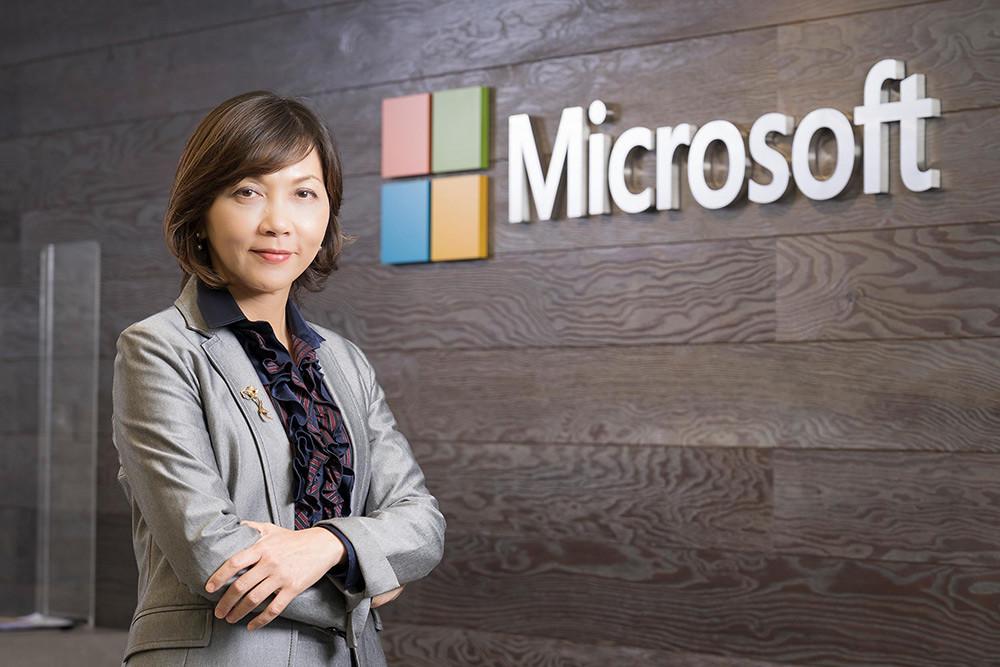 【新聞照片1】台灣微軟人事佈達,陳慧蓉接任台灣微軟首席營運長。