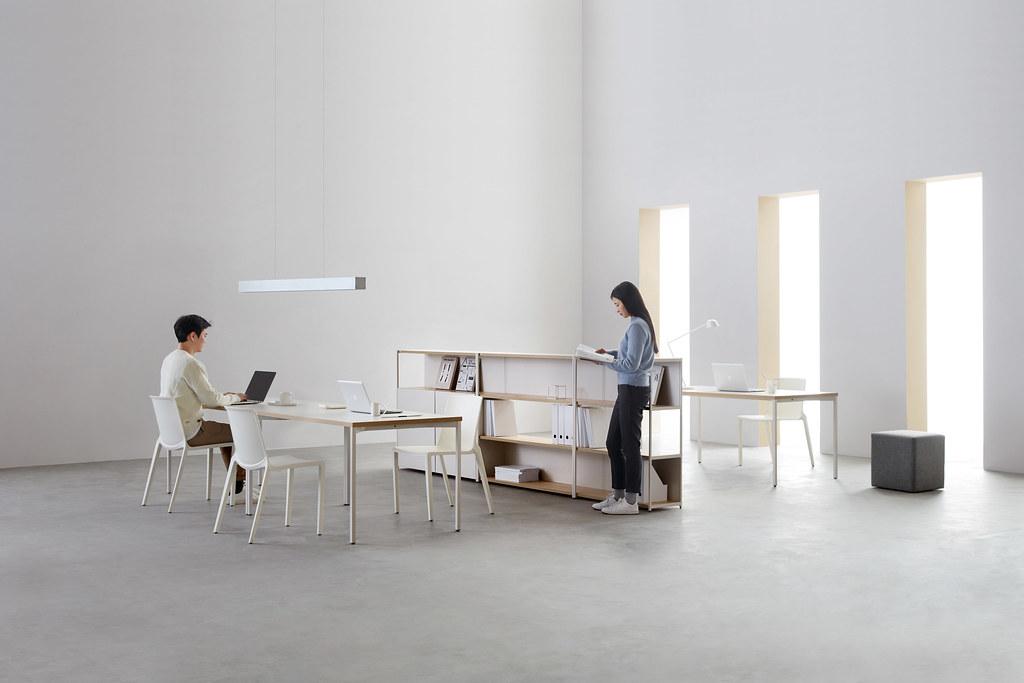 07-未來居家辦公與學習時間將逐漸增加,DESKER系列家具「超前部署」,穿梭辦公與生活之間,利用現有空間創造專業又舒適的逐夢空間