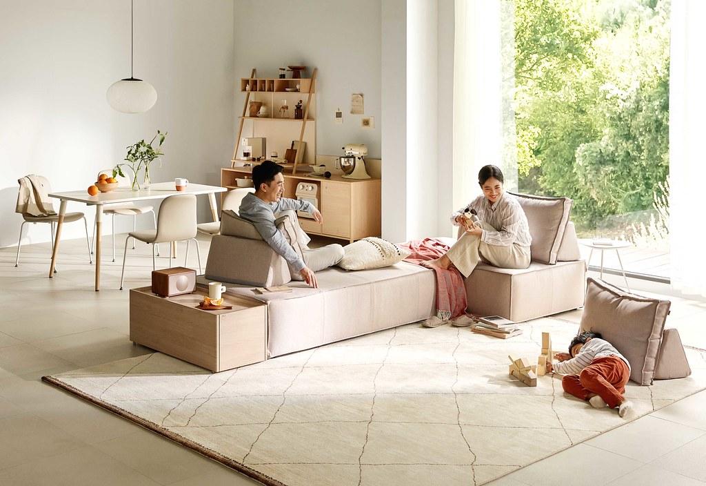 04-客廳是新春長假歡聚的重要場所,沙發最能凝聚家人間的情感,打造舒適溫暖的家就從沙發開始
