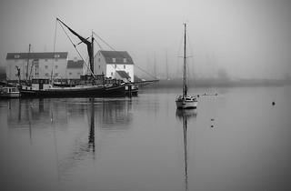 Fog on the Deben