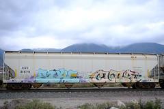 Freight Graffiti Benching - SoCal (01-24-2021)
