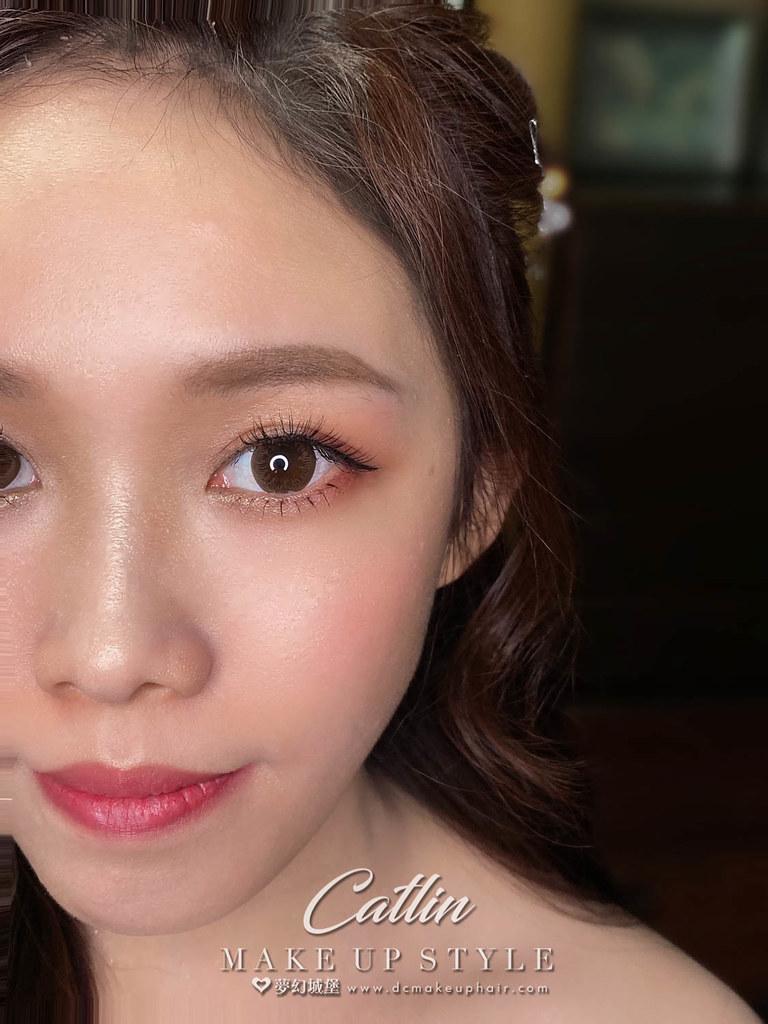 【新秘Catlin 】bride育瑩 訂婚造型 /  優雅甜美