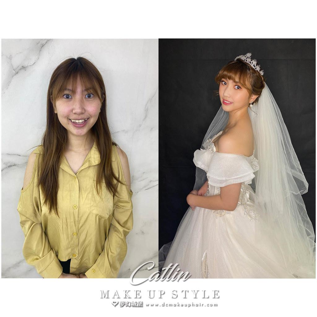 【新秘Catlin】新娘造型創作 / 甜美皇冠公主