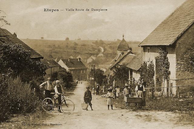 Cartes postales d'Étupes