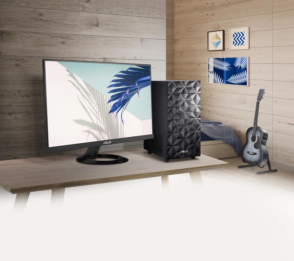 ASUS S300MA桌上型電腦不僅具備亮麗外觀,更內蘊強大性能,提供盡顯個人風格的卓越使用體驗。