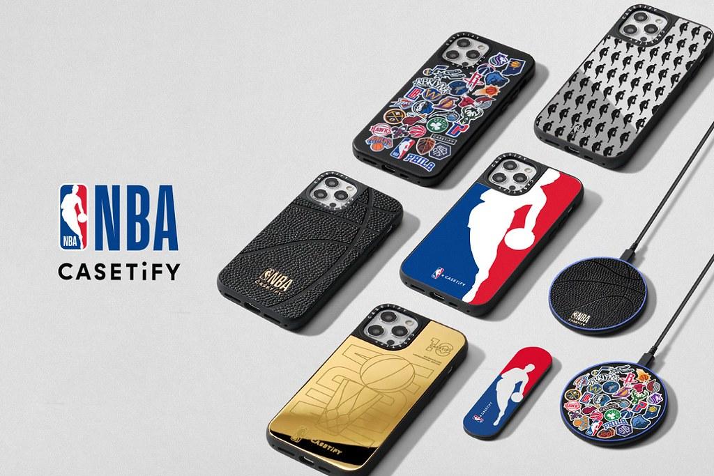 1. NBA x CASETiFY 系列將於2月18日於CASETiFY官方網站全球正式發售。
