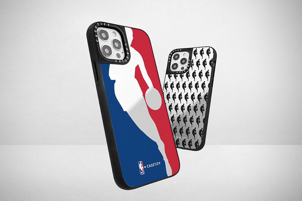 2. 以經典logo及各隊伍logo設計,NBA x CASETiFY 系列手機殼將可滿足眾多球迷喜好。
