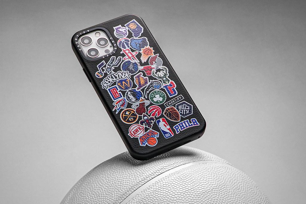 3. 以經典logo及各隊伍logo設計,NBA x CASETiFY 系列手機殼將可滿足眾多球迷喜好。