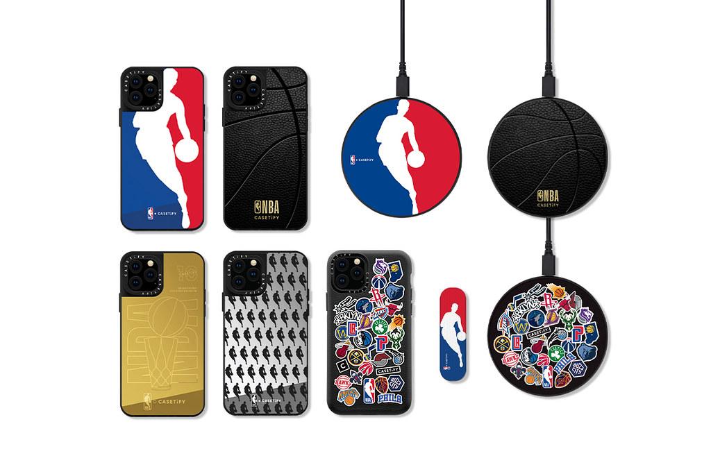 8. NBA x CASETiFY 系列將NBA經典元素融入現代感設計,推出多款實用的電子配件。