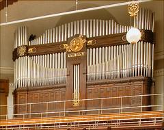 L'Orgue de la salle Smetana de la Maison municipale de Prague