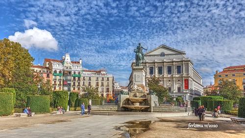 Plaza de Oriente (Madrid) 20201108_141551