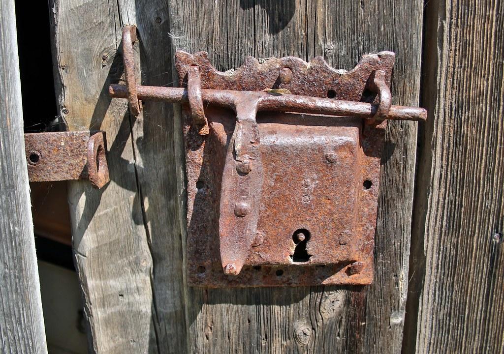 Rusted Door Lock.