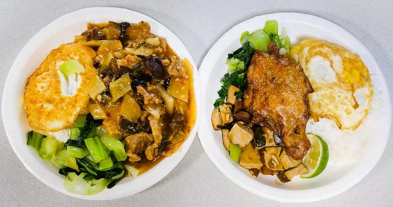 【台南美食】大一美食 東菜市旁最熱門的便當老店!雞腿好吃~ 內用外帶都生意好!