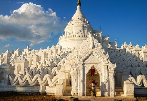Hsinbyume Pagoda - Min Kun, Myanmar