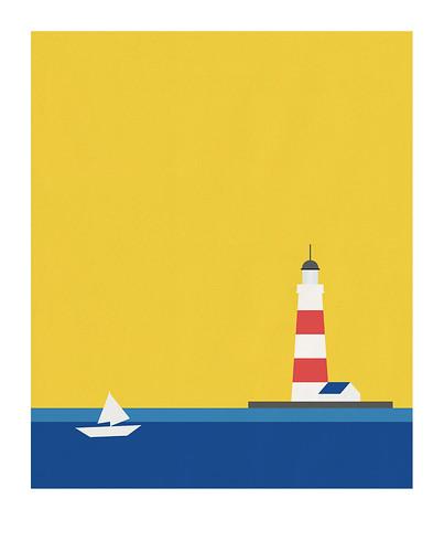10-Carte postale // 10x12,5cm // Voilier