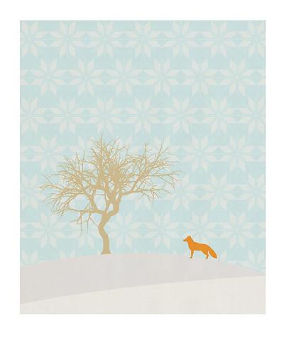 06-Carte postale // 10x12,5cm // Hiver