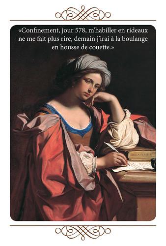 35-Carte postale // 10x15cm // Housse de couette