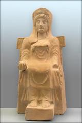 La déesse Héra d'Argos (Musée de Paestum)