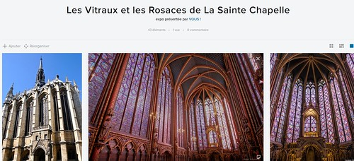Les Vitraux et les Rosaces de La Sainte Chapelle
