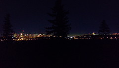 2015 11 30 Moonrise + Reflection Panorama