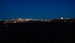 2015 10 27 Moonrise and Reflection Panorama