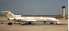TS-JHQ Boeing 727-2H3 Tunisair TUN 280494