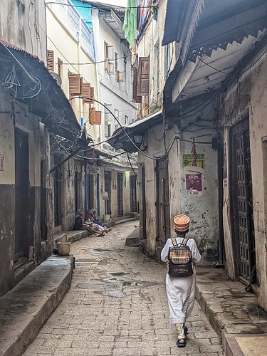 Early morning in Stone Town.