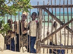 School kids in Jambiani