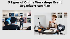 5 types of Online workshops for event orgnizers
