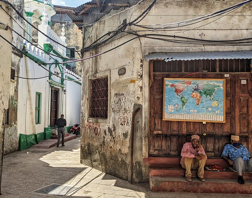 Stone Town streets.