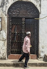 Imam at a Stone Town mosque.