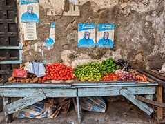 Veg Stall in Stone Town