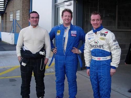 Shaun Hazlewood Lee Penn and Mark James Donington 2006