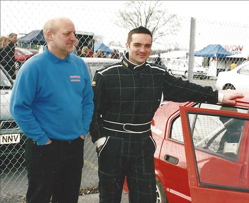 Bob Godbold and Shaun Hazlewood