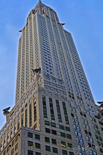 Chrysler Building Skyscraper 42nd St Midtown Manhattan New York City NY P00795 DSC_2954