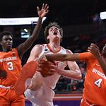 Clemson vs. Syracuse basketball