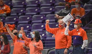 MBB: Clemson 78 Syracuse 61 Photos
