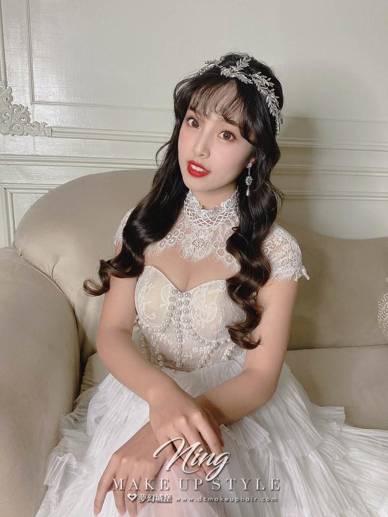 【新秘羽寧】新娘造型創作 / 仙女水波紋